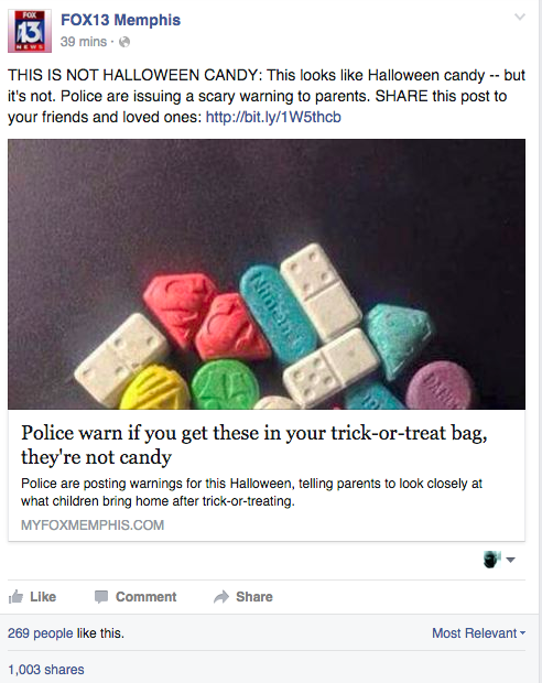 By the time this blog posted this Fox 13 story had been shared more than 2,800 times.