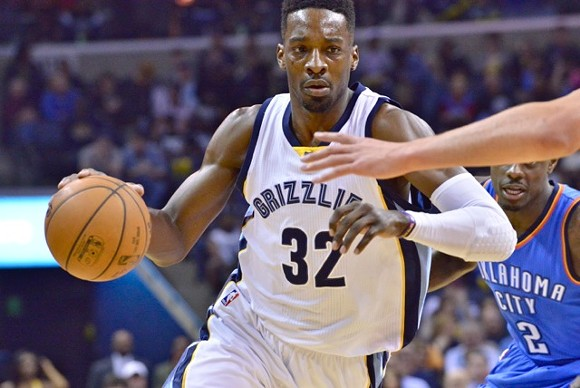 Will Jeff Green look comfortable in the starting unit tonight? - LARRY KUZNIEWSKI