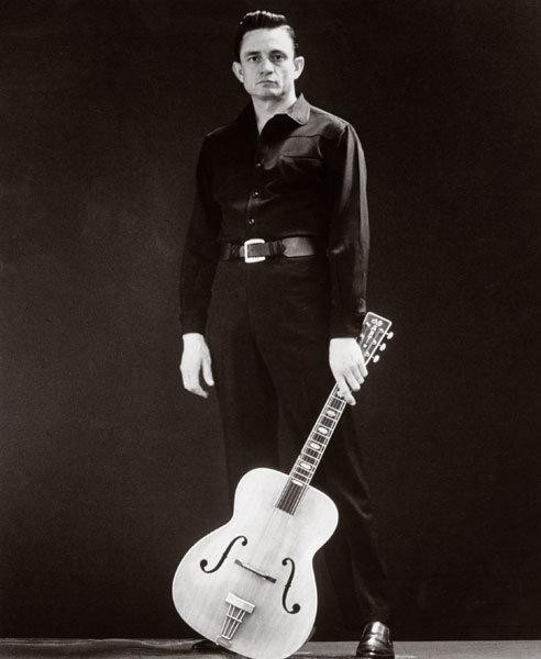 Johnny Cash by Leigh Wiener, 1962.