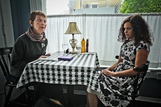 Grace Zabriske and Amy LaVere in Only Child