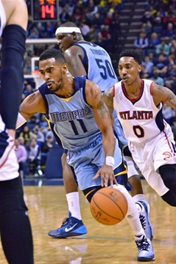 """Mike Conley has said the Grizzlies """"aren't on the same page defensively."""" - LARRY KUZNIEWSKI"""