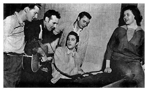 The Million Dollar Quartet was formed on this day in 1956.
