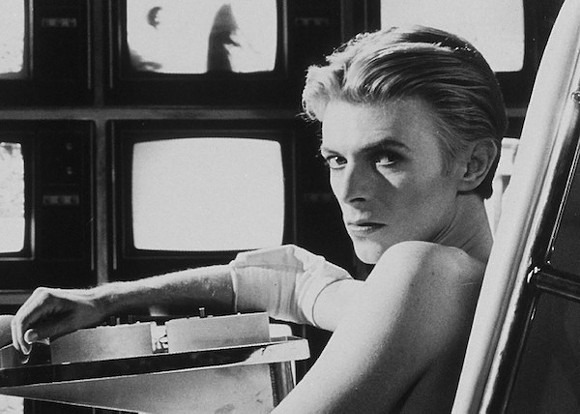 David Bowie in The Man Who Fell To Earth, 1976