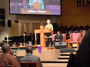 Hillary at Mississippi Boulevard - JEREMY PIERRE