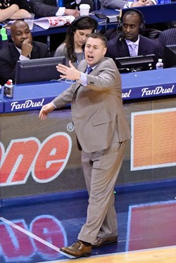 Dave Joerger has his hands full trying to get the most out of this team. - LARRY KUZNIEWSKI