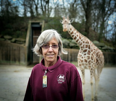 Memphis Zoo keeper Carolyn