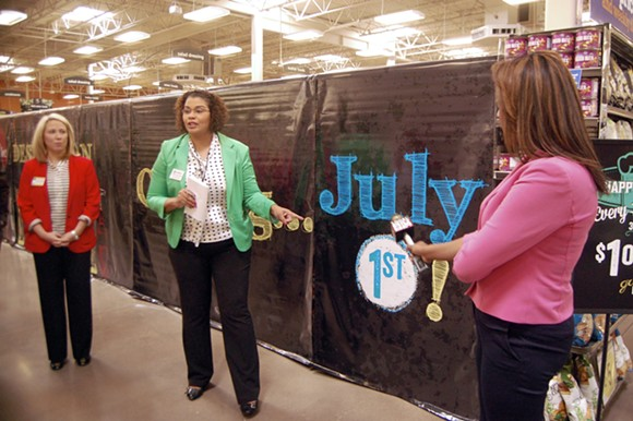 Kroger officials gave media tours of the Germantown Kroger store Tuesday. - TOBY SELLS