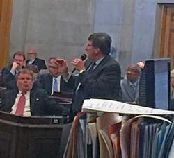 Fitzhugh bringing his amendment - JB