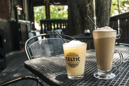 Frozen drinks at Celtic - KATIE MCWEENEY POWELL