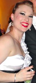 Liz Sharpe at Memphis' Ostrander Awards