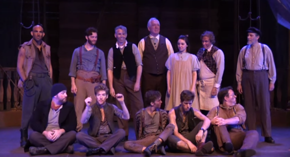 The Cast of Peter and the Starcatcher