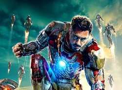 He is Iron Man.