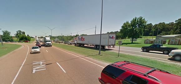 Lamar Avenue close to Holmes Road. - GOOGLE MAPS