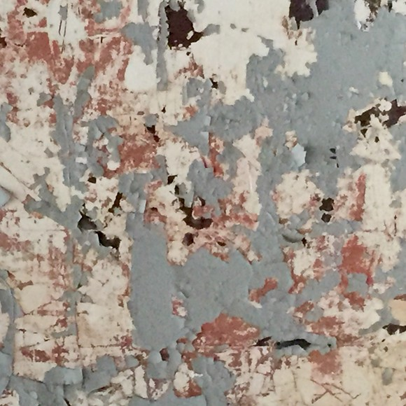 Urban decay or Jackson Pollock?