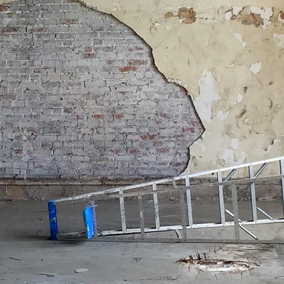 Still life with ladder.