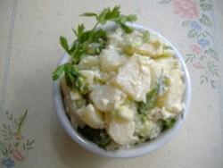 Try the potato salad.