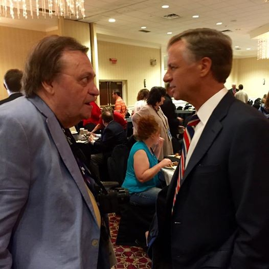 Jackson Baker and Tennessee Governor Bill Haslam.