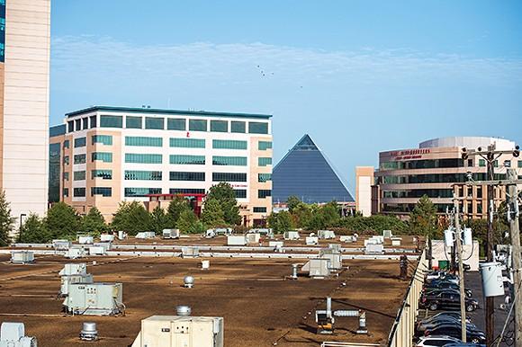 St. Jude expansion spurs construction.