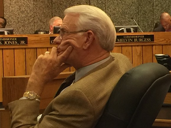 Mayor Luttrell during debate not the power-sharing measure - JB
