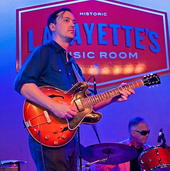 Joe Restivo (guitarist) helped organize the Love Light Orchestra.