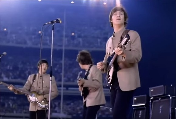 The Beatles at Shea Stadium, 1966