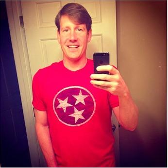 Brian Kelsey's selfie.