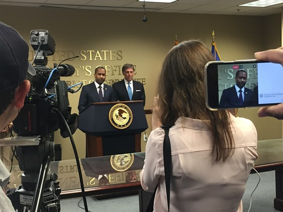Edward Stanton III said no charges would be filed against a Memphis police officer in the 2015 shooting death of Darrius Stewart. - TOBY SELLS