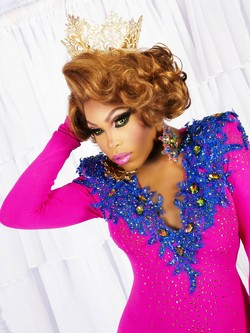 Miss Gay America 2016, Asia T. O'Hara, will be on hand to crown the new winner for 2017. - KRISTOFER REYNOLDS