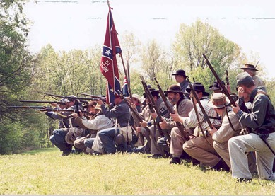 the 51st Tennessee Infantry, slated to get another crack at them Damyankees (even if a make-believe one)!