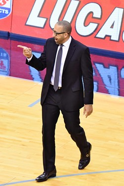 David Fizdale is enjoying the win streak. - LARRY KUZNIEWSKI