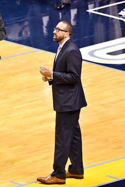 Grizzlies head coach David Fizdale - LARRY KUZNIEWSKI