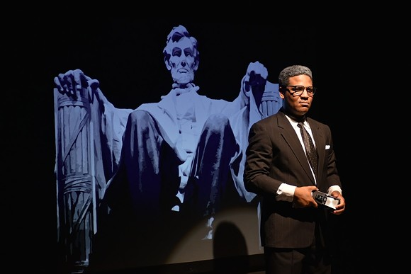 Courtney Williams Robertson as Bayard Rustin in the Hattiloo Theatre's production of Blueprints to Freedom. - HATTILOO THEATRE