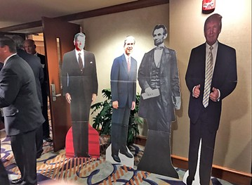 A presidential quartet at Lincoln Day - JB
