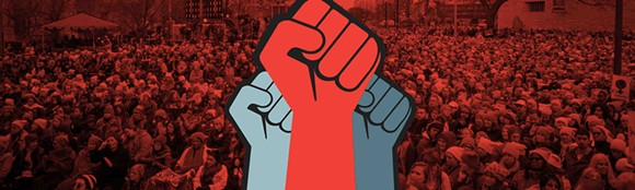 The People Power logo. - ACLU