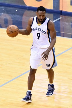 Tony Allen has not been the fearsome lockdown defender he used to be. - LARRY KUZNIEWSKI