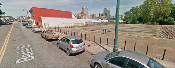Site of proposed Best Western. - GOOGLE MAPS