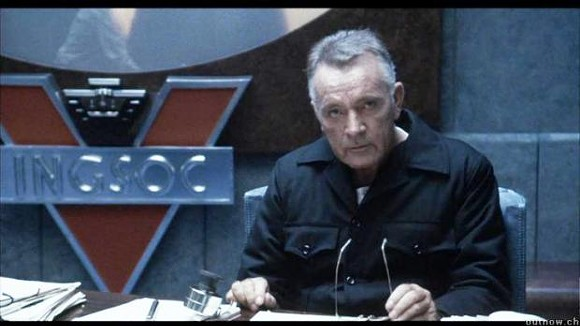 Richard Burton as O'Brien in 1984.