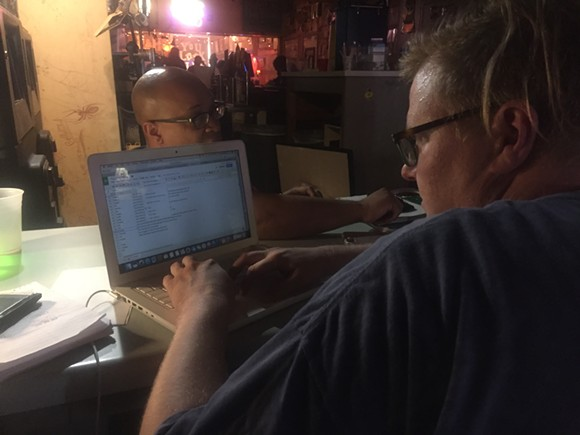 "In the ""writer's room"" with Richard Douglas Jones and Hunter Sandlin"