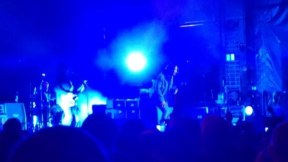 Soundgarden closing out the festival. - E.J. FRIEDMAN