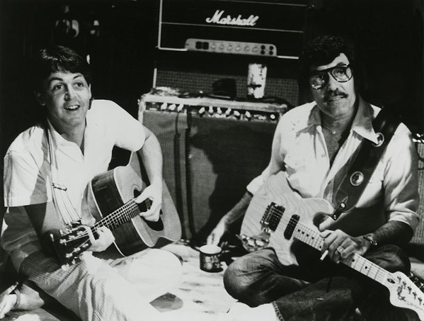 Paul McCartney & Carl Perkins