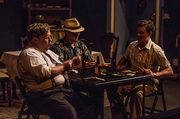 Poker night. - BILL SIMMERS