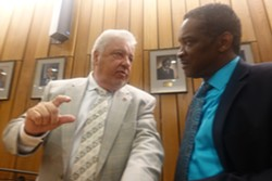Commissioners Terry Roland and Eddie Jones - JB