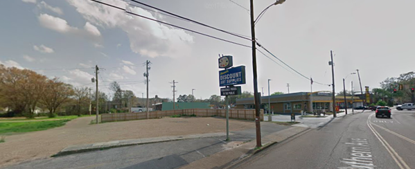 Site of the former Custom Cleaners close to the University of Memphis. - GOOGLE MAPS