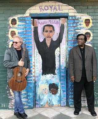 Fred Mollin & Lamont Dozier at Royal Studios
