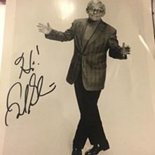 My autographed Frank pic.
