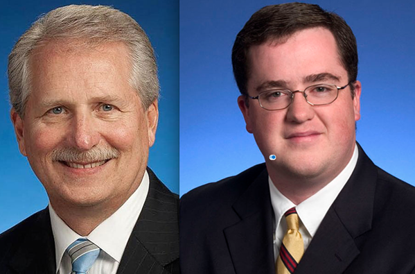Sen. Bill Ketron and Rep. Matthew Hill introduced legislation to make drivers who hit protesters immune from civil liability.