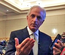 Sen. Corker in Chattanooga