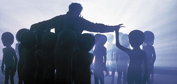 Roy Neary is chosen by the aliens.
