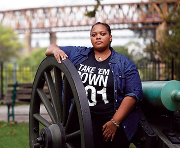 Tami Sawyer, #takeemdown organizer and activist - JUSTIN FOX BURKS