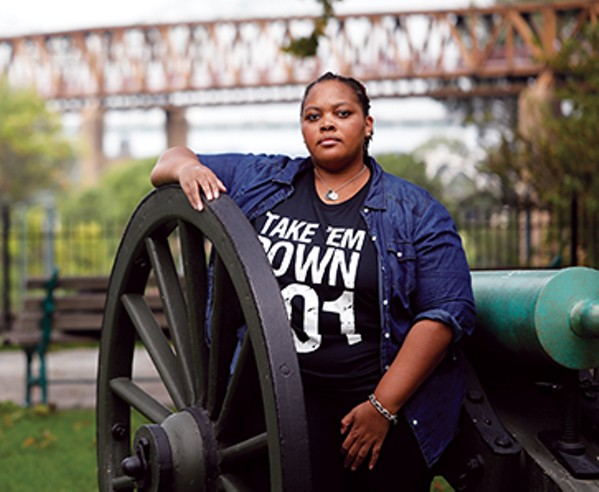 Tami Sawyer, #takeemdown organizer and activist - JUSTIN FOX BURKS